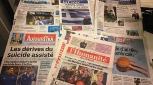 Diários franceses 30/01/2015