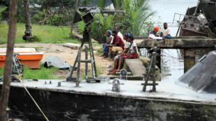 Les otages ont été enlevés au bord du fleuve qui traverse l'Etat de Cross River au Nigeria.