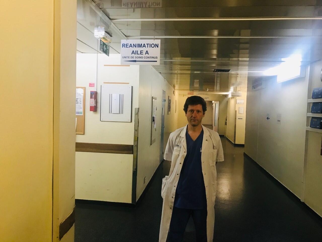 Stéphane Gaudry,professeur de médecine intensive réanimation dans les hôpitaux Avicenne (Bobigny) et Jean Verdier (Bondy).