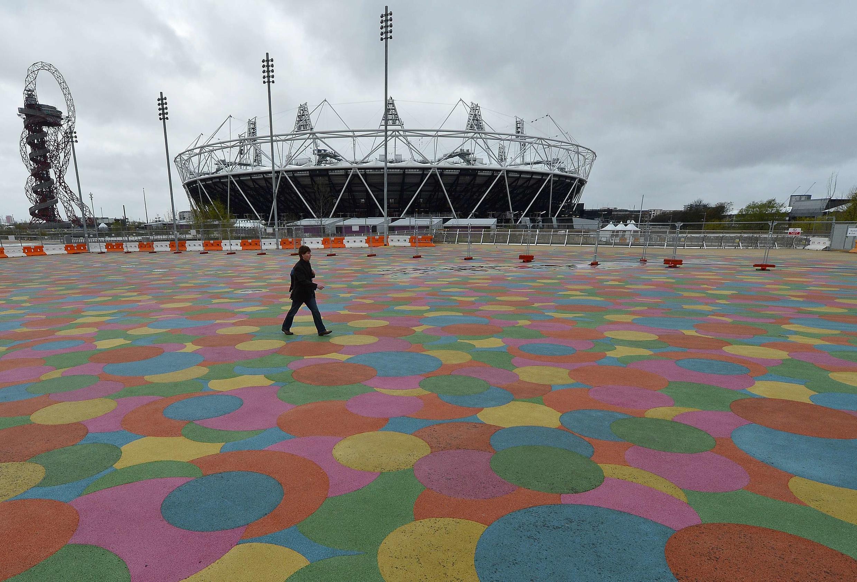 Vista do Parque Olímpico de Londres, em foto do dia 18 de abril.