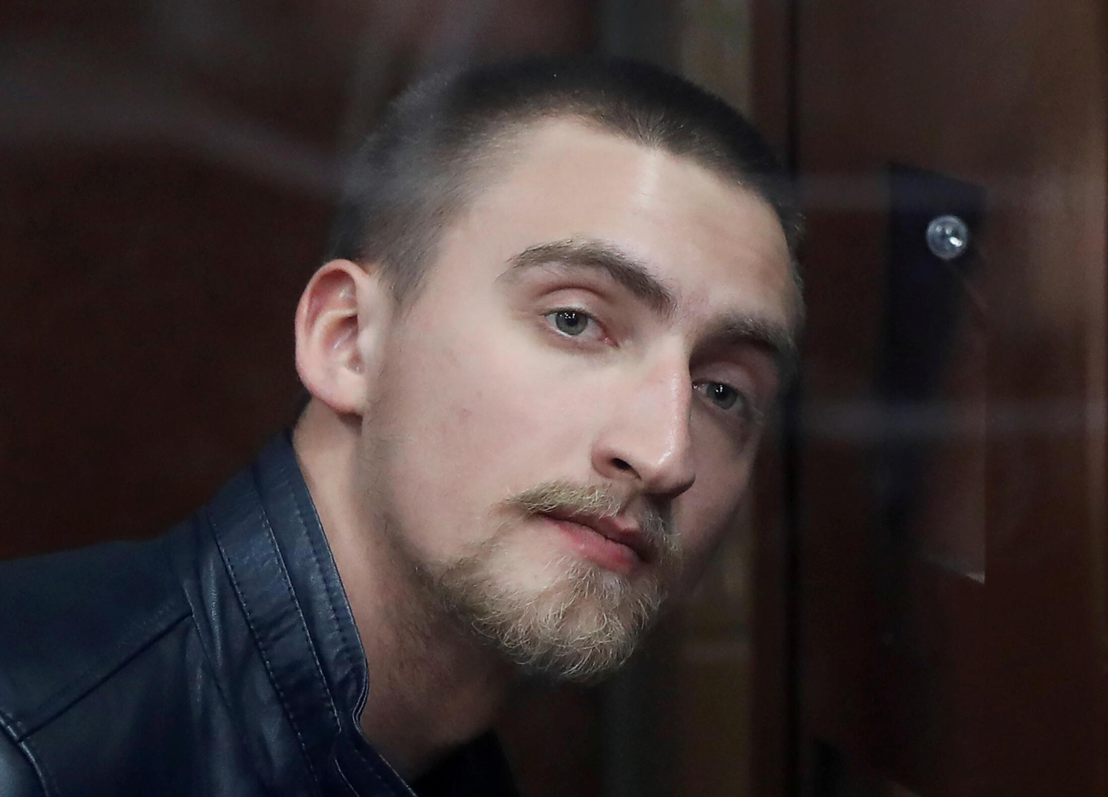 Павел Устинов в зале суда, 16 сентября 2019.