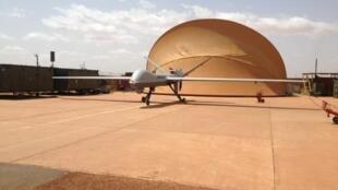 L'un de deux drones «Reaper» livrés au Sahel fin 2013.