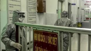 Khu cách ly virus corona tại bệnh viện Chợ Rẫy, TP Hồ Chí Minh, Việt Nam. Ảnh chụp ngày 23/01/2020