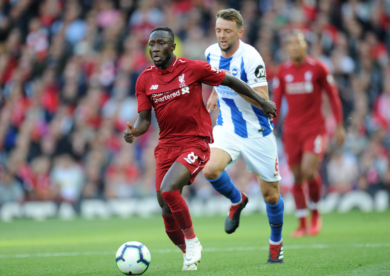 Le Guinéen Naby Keïta, ici lors d'un match contre Brighton, sera l'un des principaux atouts de Liverpool en Ligue des champions.
