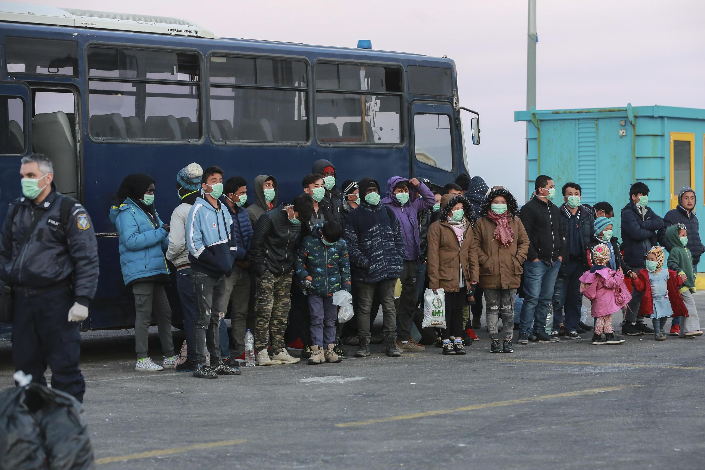 پناهجویان نابالغ اردوگاههای یونان پس از انتقال به آلمان قرنطینه شدند