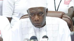 Shugaban hukumar zaben Gambia, Alieu Momar Njai