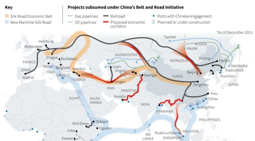 Overview of China's Belt and Road Initiative