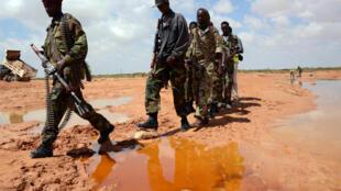 Askari wa Somalia wakipiga doria katika mkoa wa Puntland.