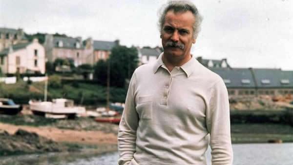 Georges Brassens, uno de los cantantes franceses considerado anticlerical.