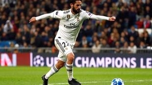 Isco na Real Madrid.