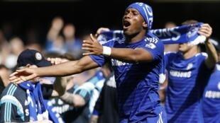 Didier Drogba mchezaji wa zamani wa Chelsea, kwa sasa akiichezea klabu ya Montreal FC kutoka Canada.