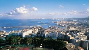 Une vue panoramique d'Alger, capitale de l'Algérie.
