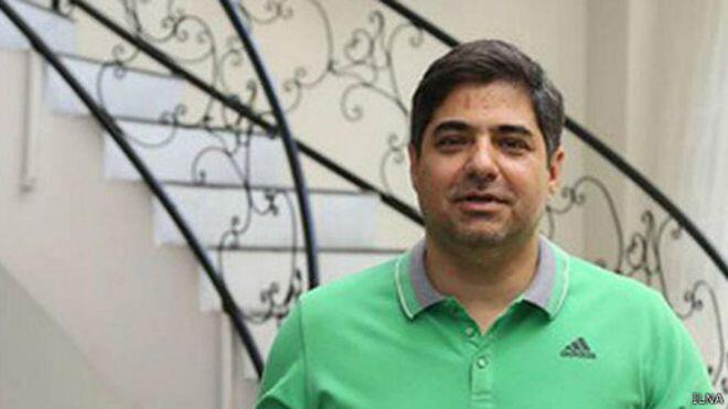 شهرام جزایری در هنگام خروج از ایران دستگیر شد - تصویر آرشیوی