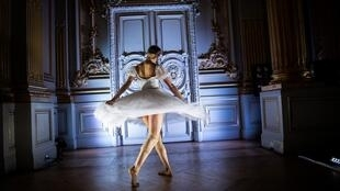 Not quite the same at home: A dancer goes through her paces at the Paris Opera