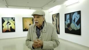 El pintor cubano Joaquín Ferrer.
