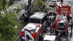 Atentado de terça-feira em Istambul fez 11 mortos.