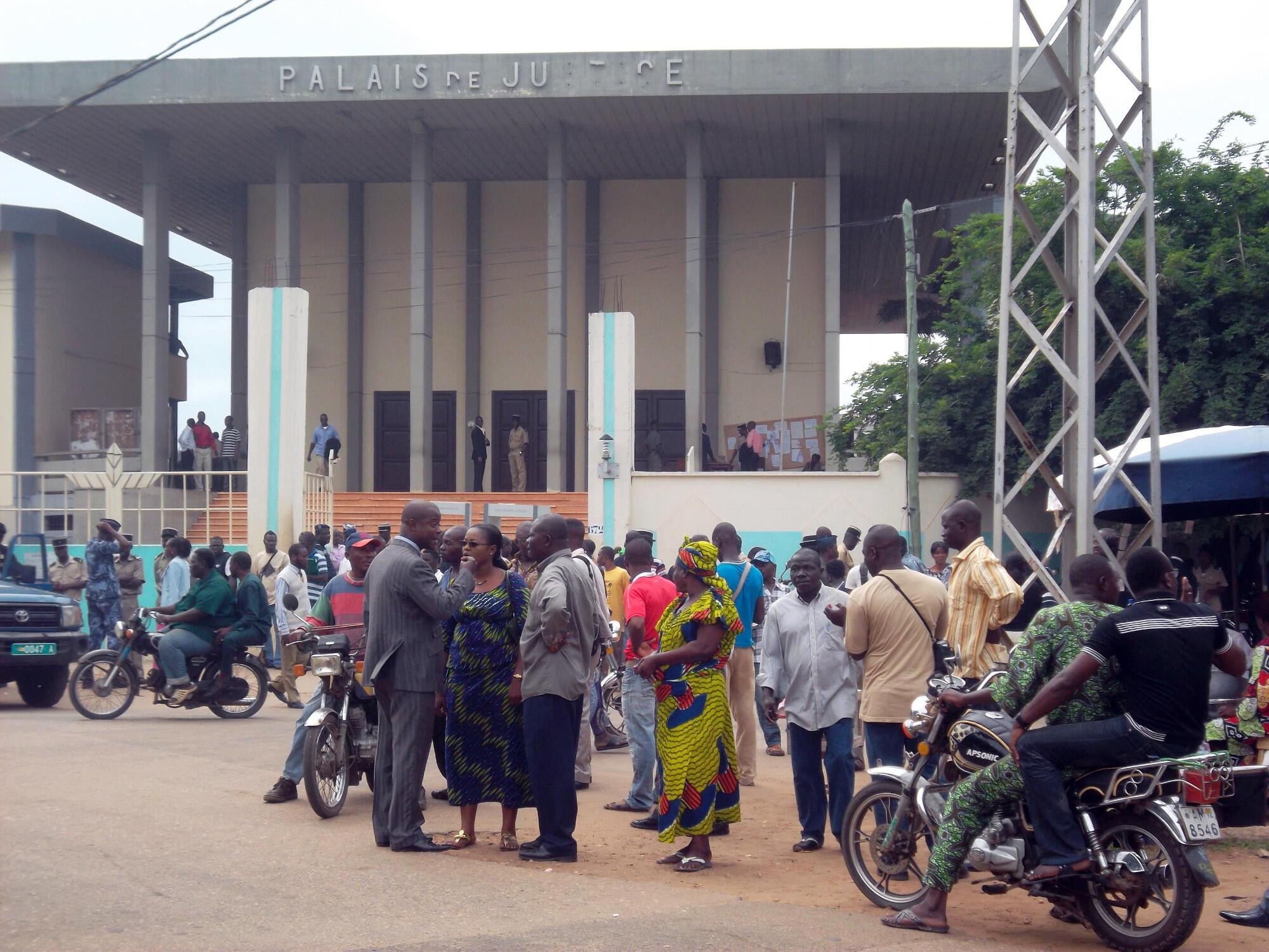 Lomé tribunal palais de justice Togo