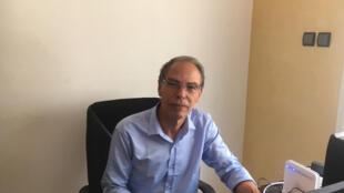L'historien, journaliste et militant des droits de l'homme marocain Maati Monjib.