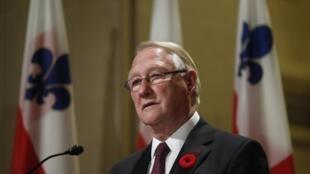 O prefeito de Montreal, Gérald Tremblay, anunciou sua demissão nesta segunda-feira à noite.