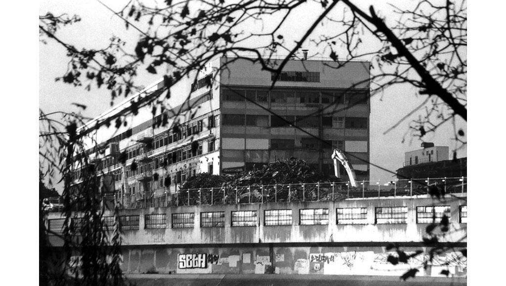 Usine Renault à Boulogne Billancourt.