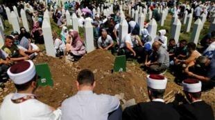 Musulmin Bosnia na juyayin kisan kiyashi a Srebrenica
