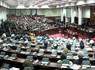 ولسی جرگه (پارلمان افغانستان)