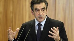 France's former Prime Minister, François Fillon
