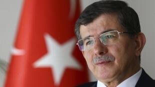 Ahmet Davutoglu, waziri mkuu wa Uturuki.
