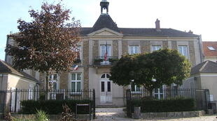 The town hall in Bussy-Saint-Georges
