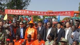 2011年1月18日,中非北方重鎮比勞為中國石油項目前期勘察工程隆重舉行開工典禮,博齊澤出席了儀式。