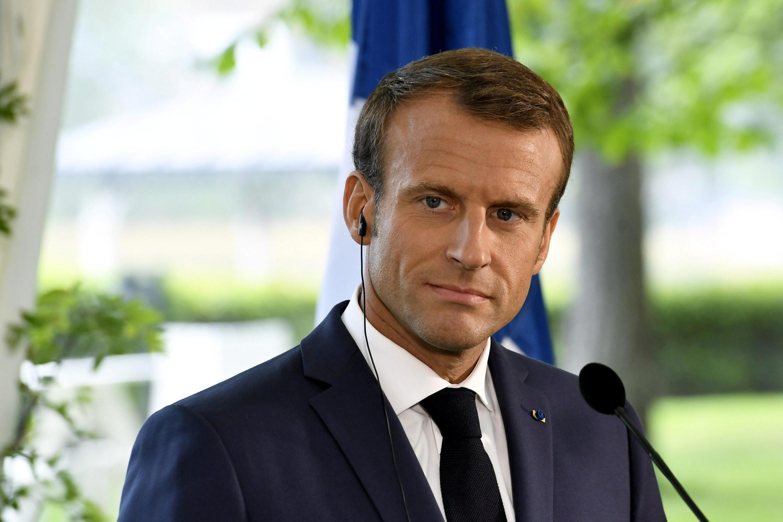 Shugaban Faransa Emmanuel Macron.