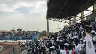 Meeting d'un candidat à la présidentielle tchadienne au Stade Idriss Mahamat Ouya de N'Djamena. (Illustration)