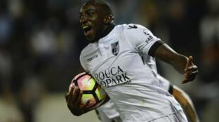 Moussa Marega, attaquant malien du Vitória de Guimarães, a déjà marqué 10 buts en huit matches de championnat.