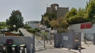 Liceu de Tocqueville, na cidade de Grasse, no sudeste da França, em reprodução do Google Maps.