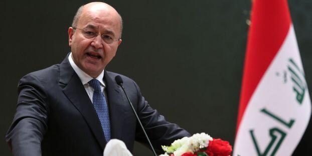برهم صالح، رئیس جمهوری عراق، خواستار شناسایی عاملان حمله مرگبار که به کشته و زخمی شدن دهها تن انجامید، شده است.