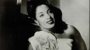 """Mabel Scott. Tapa del disco """"Fine, Fine Baby""""."""