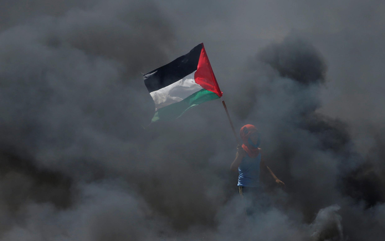 Một cảnh ở giải Gaza, Palestine, ngày 14/05/2018.