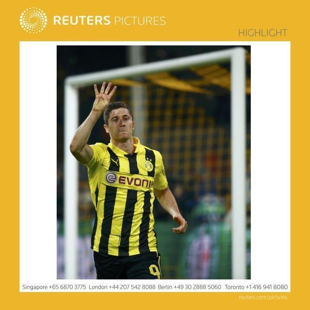 Depois de ter despachado o Real Madrid com quatro golos (4-1), Robert Lewandowski não escondeu a sua satisfação.