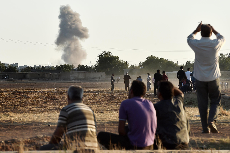 Кобани, 7 oктября 2014 года
