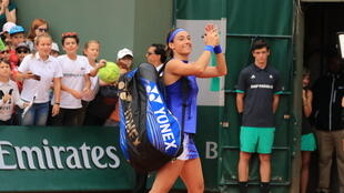 Caroline Garcia hailed the French crowds for their role in her three set victory over Wu-Sei Hsieh.