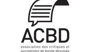 Logo de l'Association des Critiques et journalistes de Bande Dessinée, dont Fabrice Piault est le président.