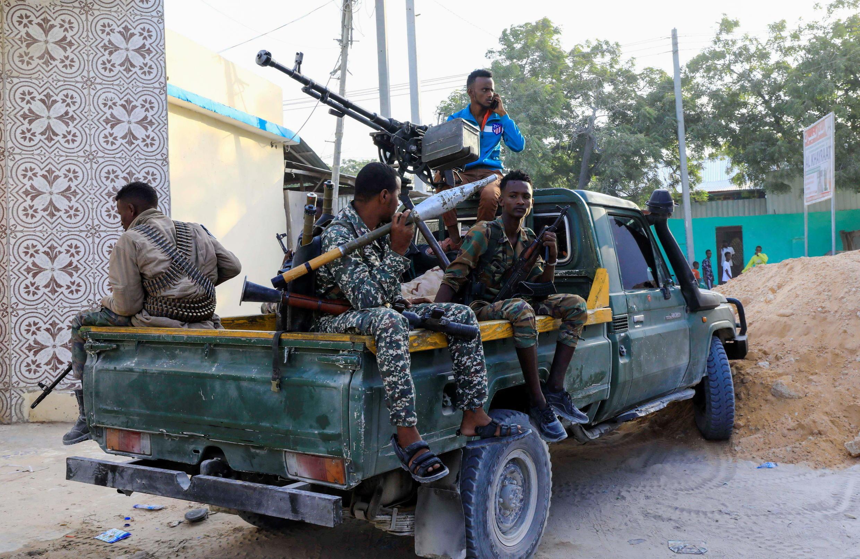 Forces armées soutenant Sadaq Omar Hassan à Mogadiscio