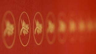 Le symbole de la Palme d'or au 69e Festival de Cannes.
