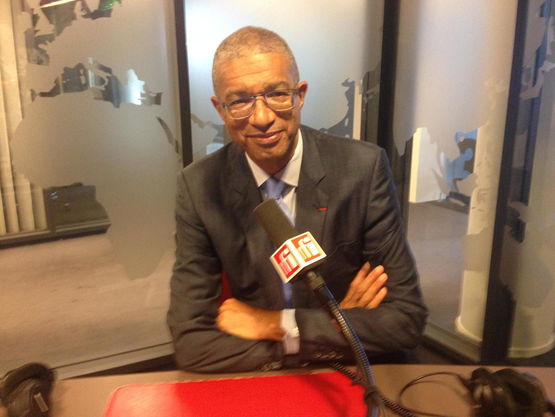 Lionel Zinsou dans les studios de RFI, le 2 août 2019.
