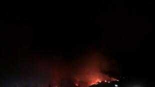 canada incendie chaleur kamloops colombie britannique