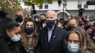 Biden durante campanha