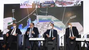 هیئت آلمانی طرح بازسازی بندر بیروت را ارائه میکند - ٩ آوریل ۲٠۲۱