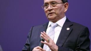 Le président birman Thein Sein.