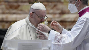 Pope Francis said vaccination was an 'essential tool' in the fight against coronavirus
