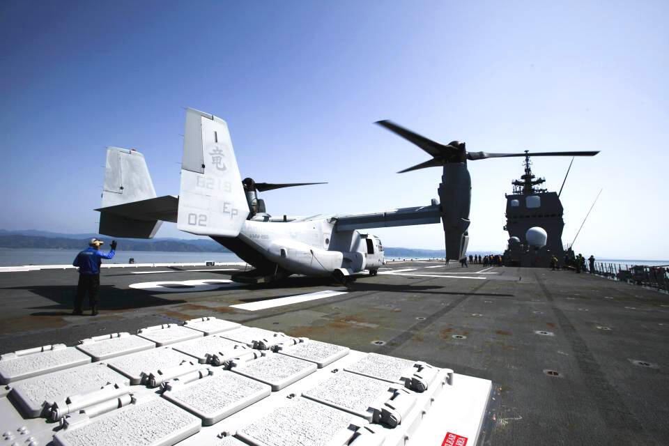 Mỹ sẽ điều động máy bay cánh quạt lên thẳng MV-22 Osprey tới Darwin, Úc